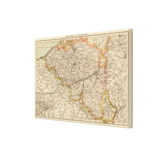 Belgium, Luxemburg Canvas Print