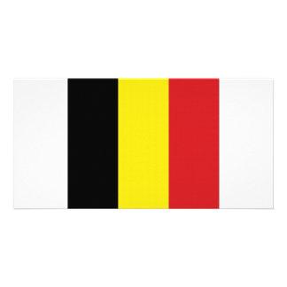 Belgium National Flag Picture Card