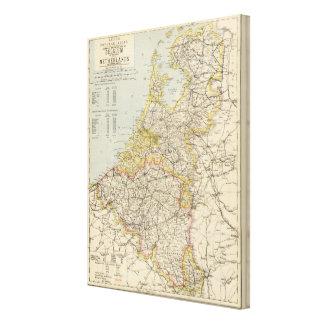 Belgium, Netherlands Canvas Prints