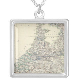 Belgium, Netherlands Silver Plated Necklace