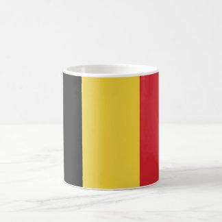 Belgium Plain Flag Coffee Mug