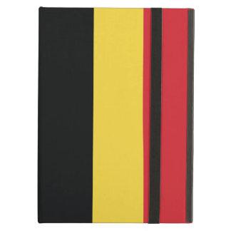 Belgium Plain Flag iPad Air Cases