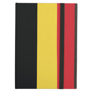 Belgium Plain Flag iPad Air Cover