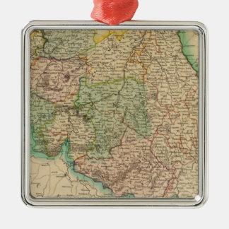 Belgium provinces christmas ornament