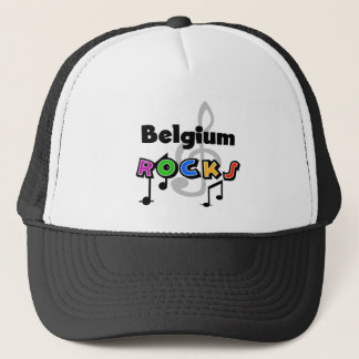 Belgium Rocks Trucker Hat