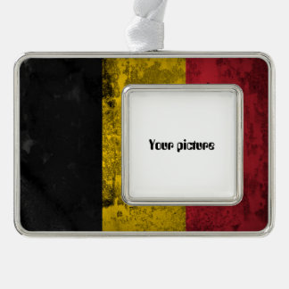 Belgium Silver Plated Framed Ornament