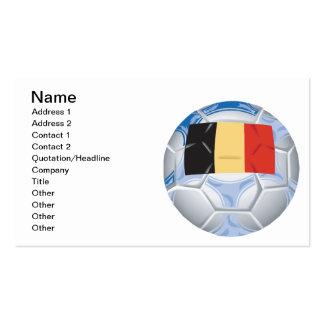 Belgium Soccer Ball Pack Of Standard Business Cards