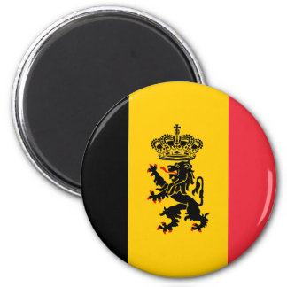 Belgium State Flag Magnet Magnet