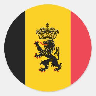 Belgium State Flag Sticker