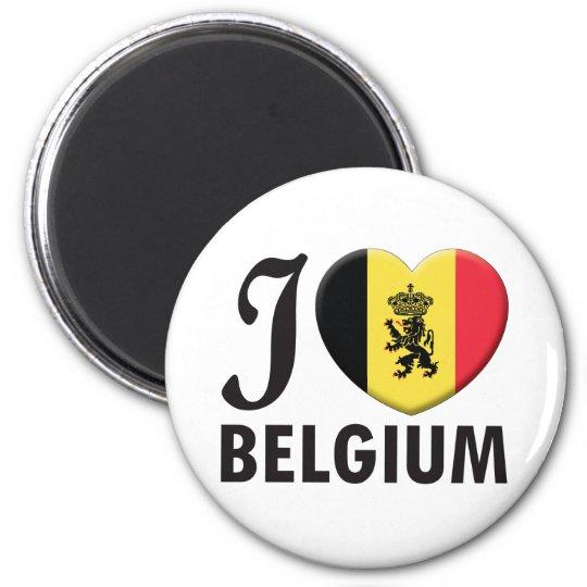 Belgium v2 Love Magnet