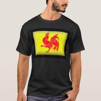 Belgium-Walloon Flag T-Shirt
