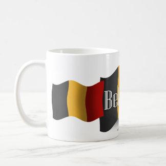 Belgium Waving Flag Coffee Mug
