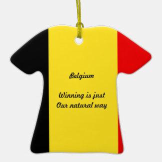 Belgium winners christmas tree ornament