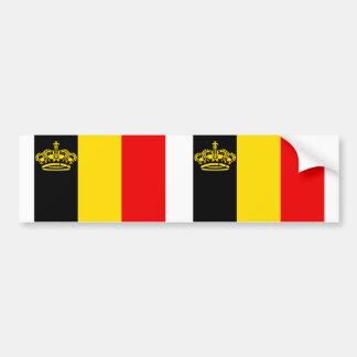 Belgium Yacht Ensign, Belgium Bumper Sticker