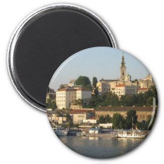 Belgrade 6 Cm Round Magnet