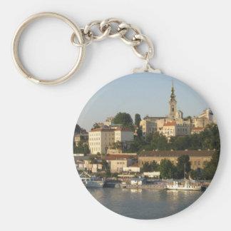 Belgrade Key Ring