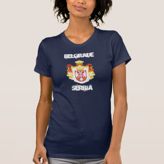 Belgrade, Serbia with coat of arms T-Shirt