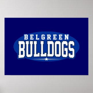 Belgreen High School; Bulldogs Print