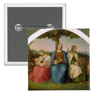 Belief, Hope and Love, 1819 15 Cm Square Badge