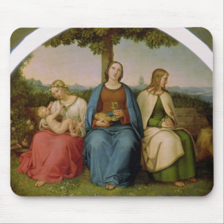 Belief, Hope and Love, 1819 Mouse Mat