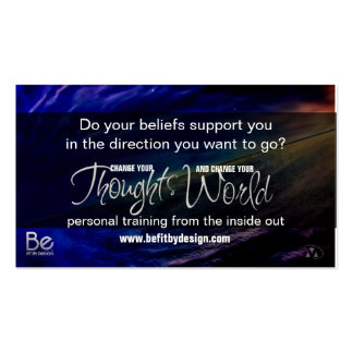 Belief - The seeds you Sow and Your Goals Pack Of Standard Business Cards