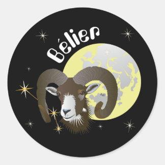 Bélier 21 Mars outer 20 avril Autocollants