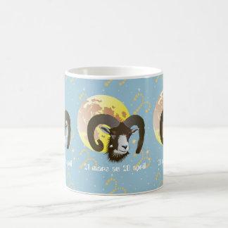 Bélier 21 Mars outer 20 avril Tasses Basic White Mug