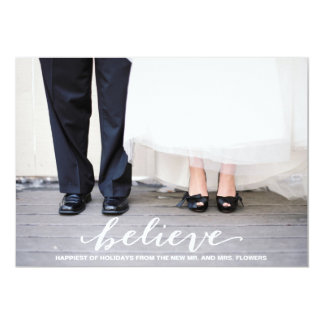 Believe. 13 Cm X 18 Cm Invitation Card