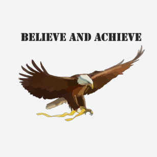 ffeaebdc1ce9 Believe and Achieve - Eagle T Shirt