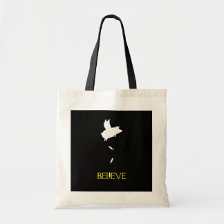 BELIEVE-And Pigs Will Fly Tote Bag