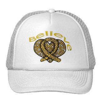 Believe Appendix Cancer Mesh Hats
