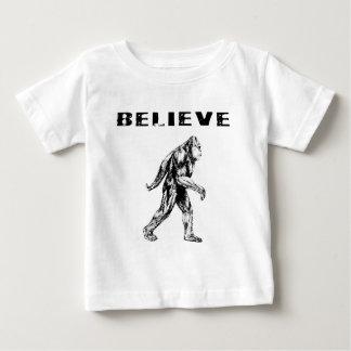 Believe - Bigfoot / Sasquatch Baby T-Shirt