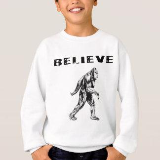 Believe - Bigfoot / Sasquatch Sweatshirt