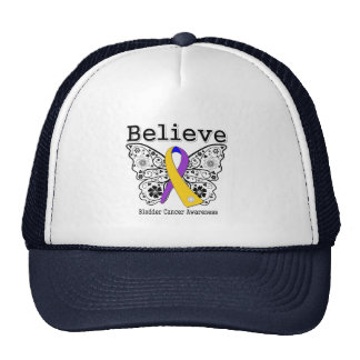Believe - Bladder Cancer Butterfly Hats