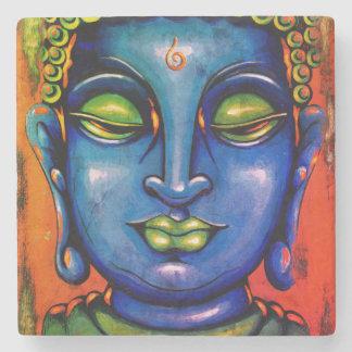 BELIEVE Buddha Tile Stone Coaster