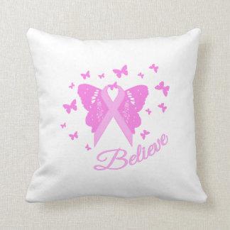 Believe Butterfly Awareness Cushion