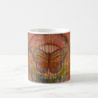 Believe Butterfly Mug