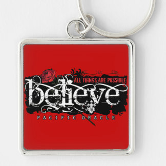 Believe - by Pacific Oracle Key Ring