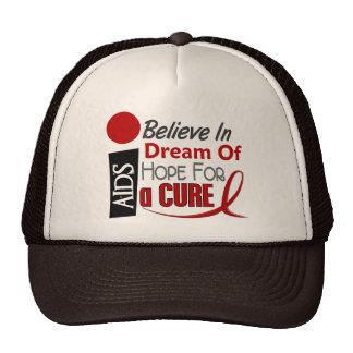 BELIEVE DREAM HOPE HIV / AIDS T-Shirts & Apparel Hats