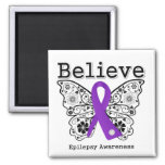 Believe Epilepsy Awareness Magnets