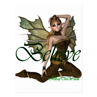 *Believe Fairy Elf 2 Postcard