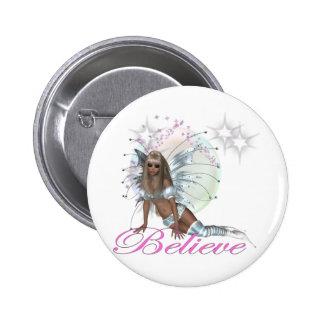 * Believe -  Fairy Moon Pins