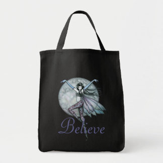 Believe Fairy Tote Bag by Molly Harrison