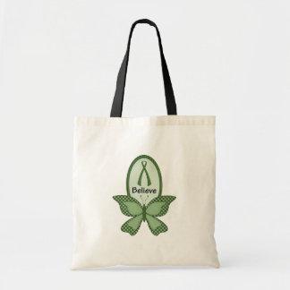 Believe- Green Awareness Canvas Bag