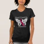 Believe - Head and Neck Cancer Butterfly T-shirt