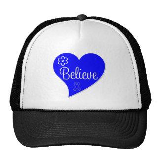 Believe Heart Anal Cancer Cap