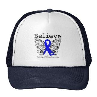 Believe Huntington Disease Mesh Hats