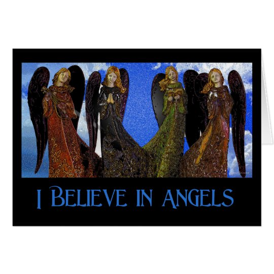 Believe in Angels Greeting Card