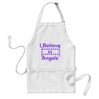 believe in angels standard apron