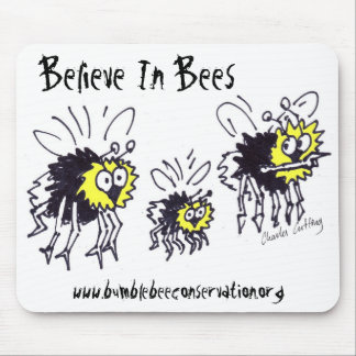 Believe In Bees Mousepad
